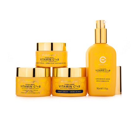 ELIZABETH GRANT Vitamin C5 & B Daycream mit LSF 15, Nightcream, Eyecream & Serum