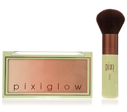 PIXI BEAUTY Pixiglow 3in1- Rouge & Highlighter Palette mit Pinsel