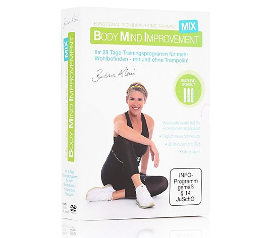 FLEXI-SPORTS Body Mind Improvement BMI MIX, individuell. Fitnesstraining 6 DVDs