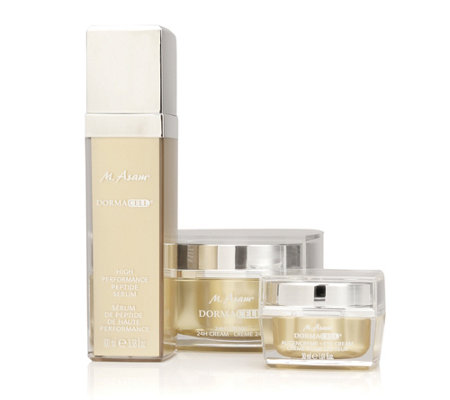 M.ASAM® DORMACELL 24h Creme 100ml, Augencreme 30ml & Serum 100ml