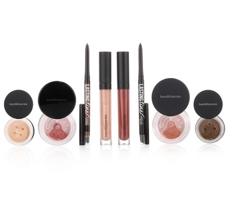 bareMinerals® Sweet & Smoky Colour Collection für Augen & Lippen 2 Sets