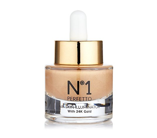 PERFETTO NO 1 Skin Illuminator Highlighter mit 24k Gold 15ml