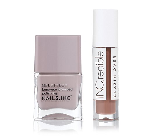 NAILS.INC® Nail & Lip-Duo Nagellack 14ml Lipgloss 3,4ml