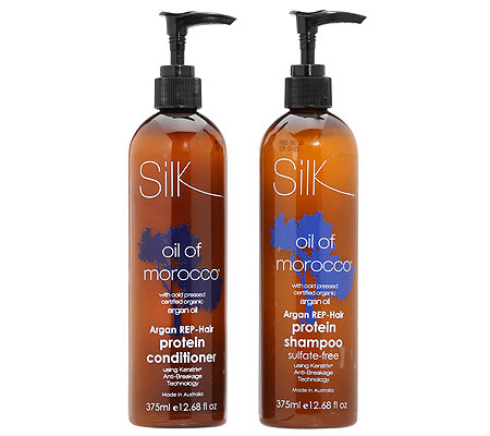 OIL OF MOROCCO REP-Hair Shampoo & Conditioner Anti-Haarbruch je 375ml