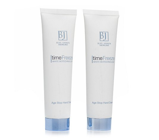 BEATE JOHNEN SKINLIKE Time Freeze Age Stop Hand Cream 2x 100ml