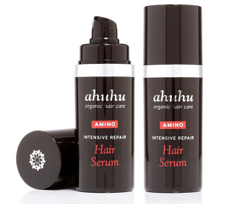 ahuhu organic haircare Intensive Repair Hair Serum Duo 2x 30ml
