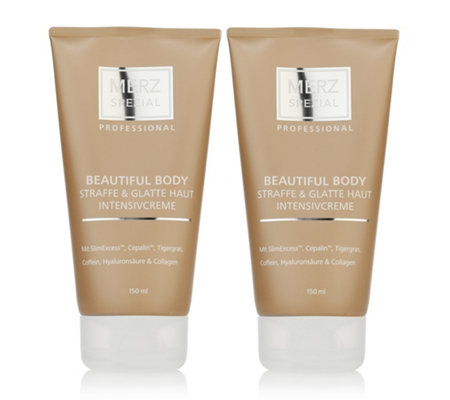 MERZ SPEZIAL Professional Beautiful Body Intensive Creme 2x 150ml