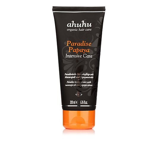 ahuhu organic hair care Paradise Papaya Intensive Care 200ml
