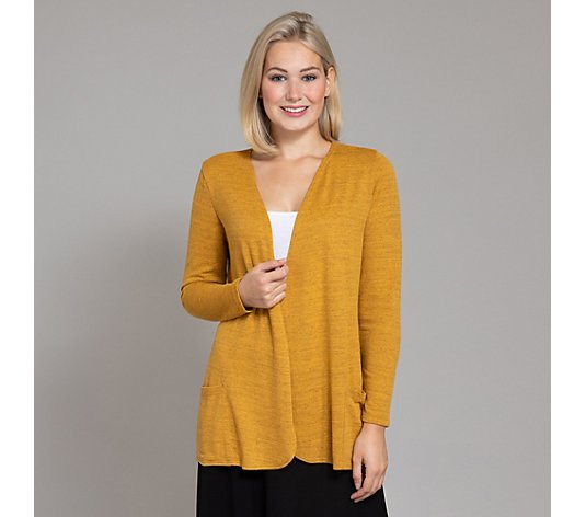 KIM & CO. Longcardigan, 1/1-Arm Soft Touch Jersey 2 Taschen offene Front
