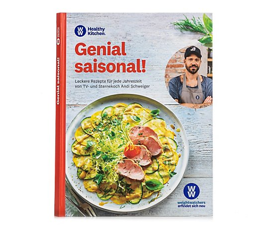 WW® ehemals Weight Watchers Genial saisonal Kochbuch mit 60 Rezepten