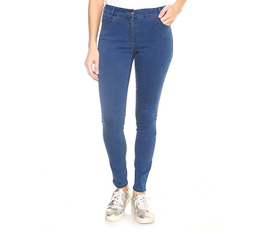 VIA MILANO Jeans Veerle 5-Pocket-Style schmale Form Stretch Denim