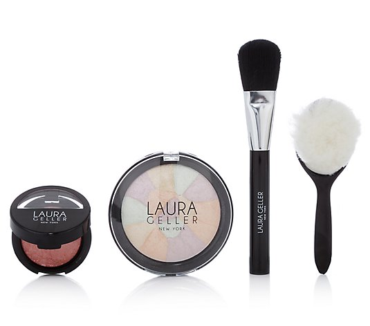 LAURA GELLER Summer Strobe Highlighter-Kit 4tlg.