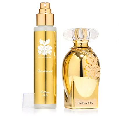 LE PARFUMEUR CHATEAU D'OR Duft-Set mit EdP 100ml & Deodorant 100ml