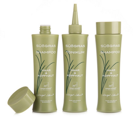 MARGOT SCHMITT® Sensitiv Shampoo 2x 200ml & Tonikum 200ml 3tlg.