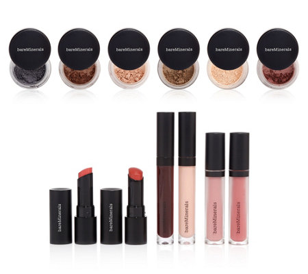 bareMinerals® Beauty Extravaganza Make-up-Set für Augen & Lippen 12tlg.