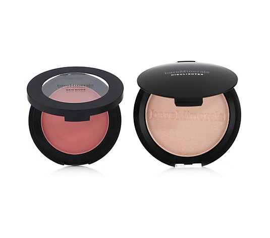 bareMinerals® The Gift of Glow-Duo Gen Nude Rouge 6g & Highlighter 10g