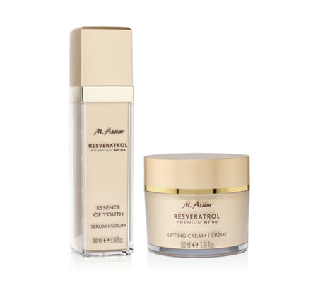M.ASAM® RESVERATROL NT50 Essence of Youth & Lifting Cream jeweils 100ml