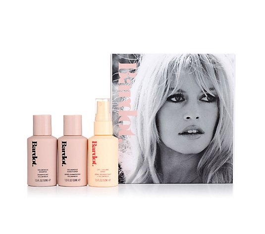 AMERICAN ENGLISH Brigitte Bardot Volumen Reise-Set Shampoo, Conditioner & Thickening Spray