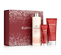 ELEMIS Frangipani Monoi-Set Bath & Shower Milk, Oil-Rich Body Cream & Hand-/Nail-Balm 3tlg. - 283316