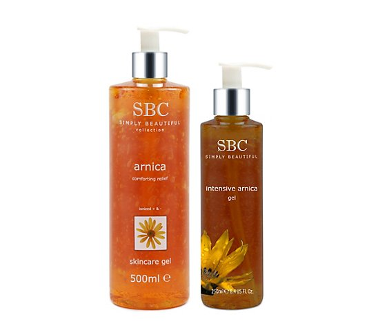 SBC Arnika Skincare Gel 500ml & Intensive Gel 250ml
