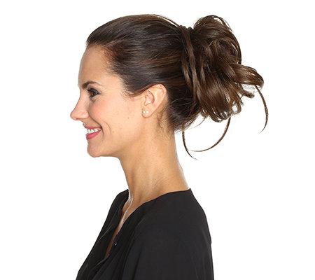 Hairdo By Hairuwear Haarverlangerung Edles Haarteil Untersch Lange Haarstrahnen Qvc De