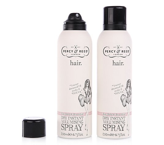 PERCY & REED™ Big, Bold & Beautiful Dry Instant Volumizing Spray 2x 200ml