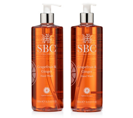SBC GRAPEFRUIT & INGWER Handseife je 500ml