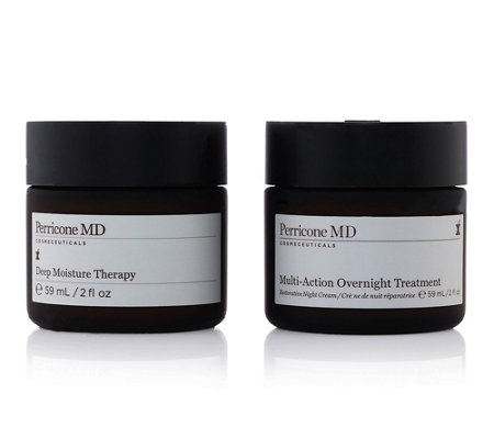 DR. PERRICONE Deep Moisture Therapy Multi-Action Overnight Treatment 2tlg. Set