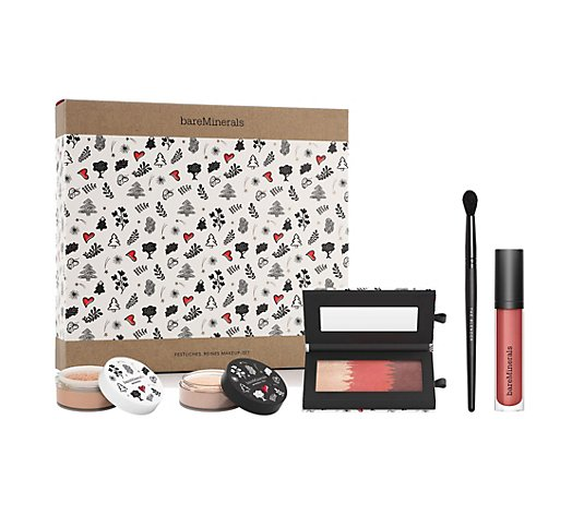bareMinerals® Holiday Collection Make-Up Set mit Original Foundation & Mineral Veil, 5tlg.