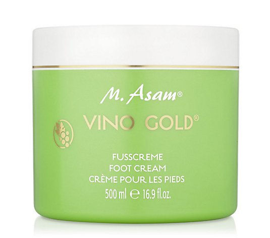 M.ASAM® Vino Gold® Fußpflegecreme Sonderedition 500ml
