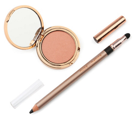 NUDE BY NATURE Summer Eye Kit mit Eyeliner & Lidschatten, 2tlg.