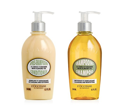 L'OCCITANE Mandel Haarpflege-Set Shampoo & Conditioner 2x 240ml