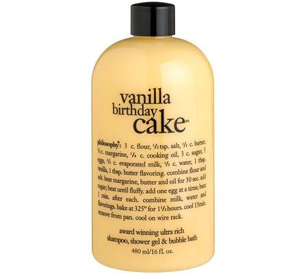 Philosophy Vanilla Birthday Cake 3 In 1 Duschgel 480ml