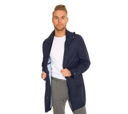 THOM by Thomas Rath Menswear Designermode Outdoormantel Kapuze