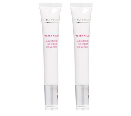 FLORA MARE FALTEN RELAX Augencreme-Duo je 20ml