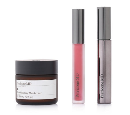 DR. PERRICONE Face Finishing Moisturizer 59ml Lipgloss 3,3g Mascara 8g
