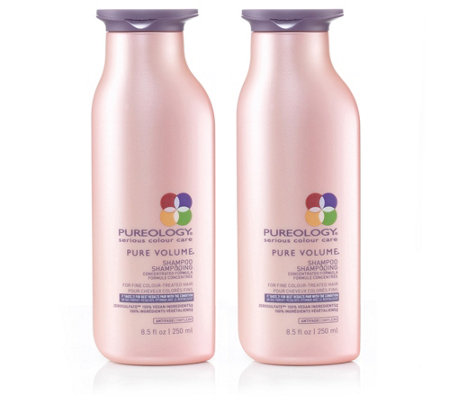 PUREOLOGY BY L'ORÉAL PROFESSIONELLE PROD. Pure Volume Shampoo 2x 250ml