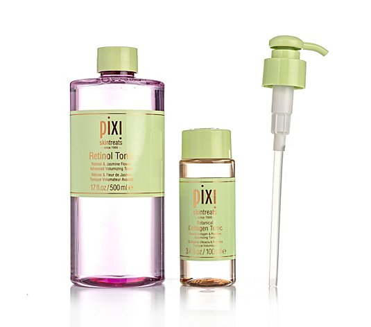 PIXI BEAUTY Retinol & Collagen Toner-Duo Retinol Tonic 500ml & Collagen Tonic 100ml