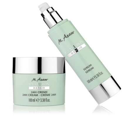 M.ASAM® Hyaluron Repair 24h-Creme & Serum je 100ml