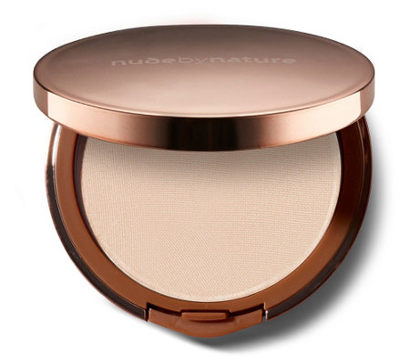 NUDE BY NATURE Mattifying Pressed Finish Puder 10g
