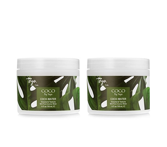 TAYA HAIRCARE Coco-Water Texturizer Styling Creme 2x 118ml