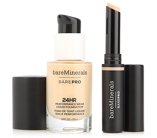 bareMinerals® BAREPRO® Liquid Foundation 14ml mit Concealer 2,5g
