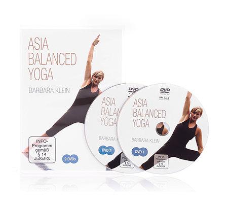 flexi sports yoga dvd set asia balanced mit barbara klein. Black Bedroom Furniture Sets. Home Design Ideas