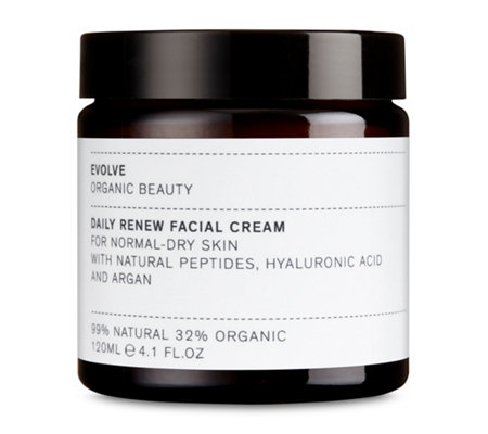 EVOLVE ORGANIC BEAUTY Gesichtscreme Daily Renew Facial Cream Sondergröße 120ml