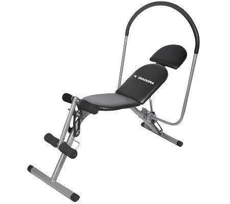 Qvc Sportgeräte diadora sportgerät für bauch-, bein-, und rückentraining - page 1