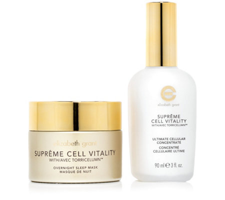 ELIZABETH GRANT Supreme Cell Vitality Sleep Mask & Ultimate Concentrate 2tlg.