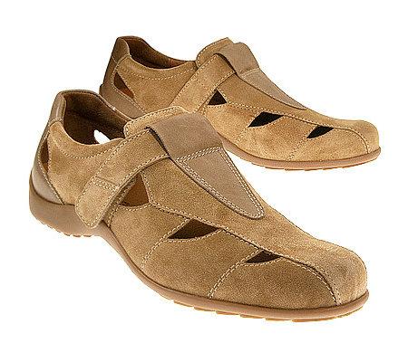 Herren Sandale Vitaform Riemer 1 Klettverschluss Veloursleder — 0ynwvm8ON