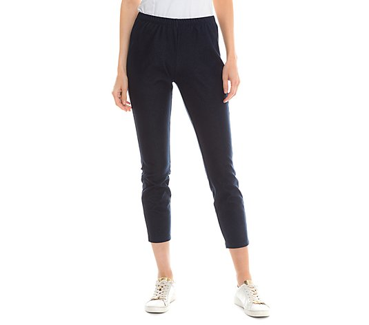 KIM & CO. Denim Jersey Hose Karlotta elastisch Jeans-Optik
