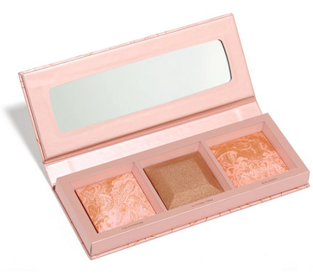bareMinerals® CRYSTALLINE GLOW Bronzer & Highlighter Palette 7,5g