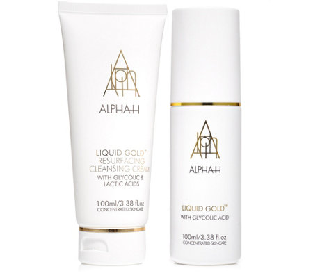 ALPHA-H Liquid Gold Lotion & Cleansing Cream 2x 100ml